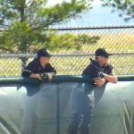 baseball wait still